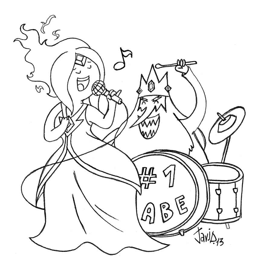 Sketch: A Song of Ice and Fire by JaviDLuffy