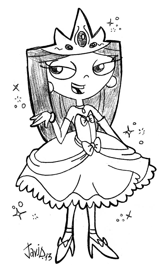 Poland's Princess Isa (Sketch) by JaviDLuffy