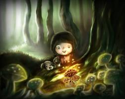 Mushroom Treasure by boOnsai