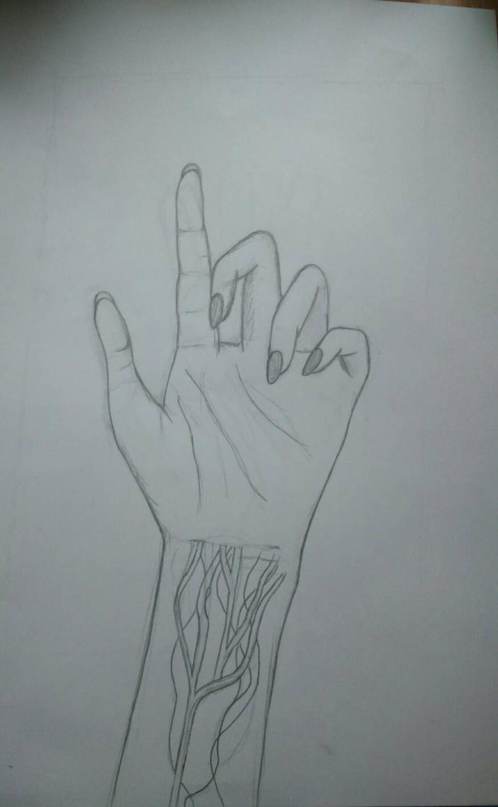 Hand  by pennylaneforever