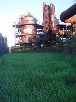 Industrial Backyard Distillery