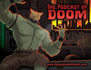The Podcast of Doom Postcard