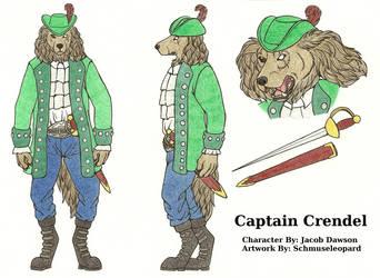 [Com] Captain Crendel Reference Sheet