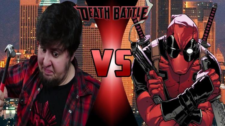 JonTron VS Deadpool-DEATH BATTLE by onlyherefordb on DeviantArt