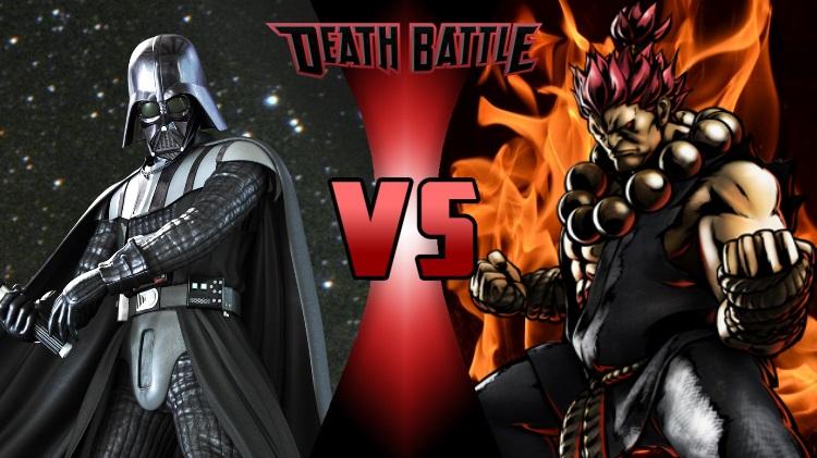 Darth Vader Canon Vs Ares Dceu: Darth Vader VS Akuma-Prelude By Onlyherefordb On DeviantArt