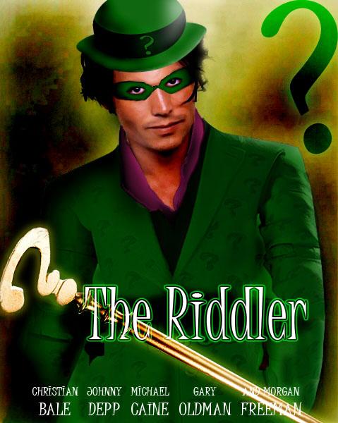 Johnny Depp as The Rid... Jim Carrey