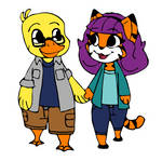 Ducky and Tigress