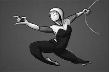 Spider Gwen by LaurenSparks