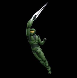 Sword Swinging Master Chief