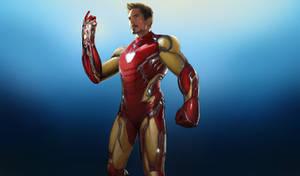 I am Ironman - AvengersEndgame, Mark 85 Art