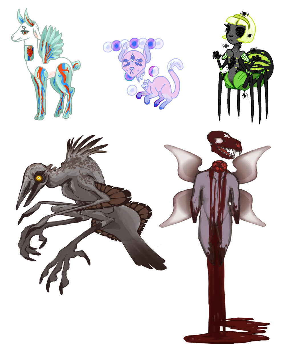 Binding Of Isaac Collab Adopts (OPEN) By ToothlessEgo On