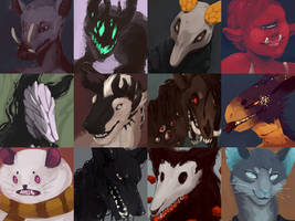 Headshots by ToothlessEgo