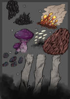 Fungi Tidbits by ToothlessEgo