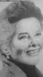 Katharine Hepburn (close up) by beans330