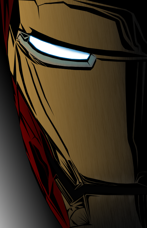 Iron Man Vector Mask By Elitedesigns83 On Deviantart
