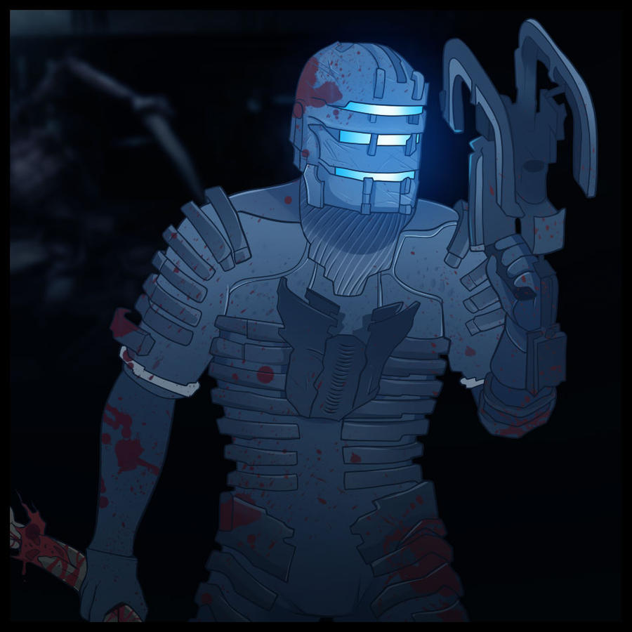 Dead Space, Isaac Clarke by Dragoart