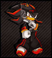 Gangster Shadow the Hedgehog