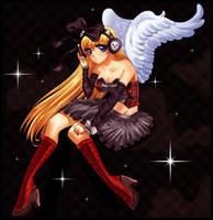 Prudence, Anime Angel by Dragoart