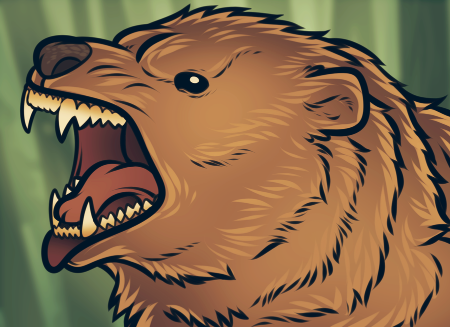 Vector Grizzly Bear by Dragoart on DeviantArt