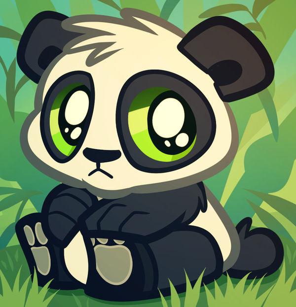Baby Panda Bear Cartoon Panda Cub By Dragoart On Deviantart