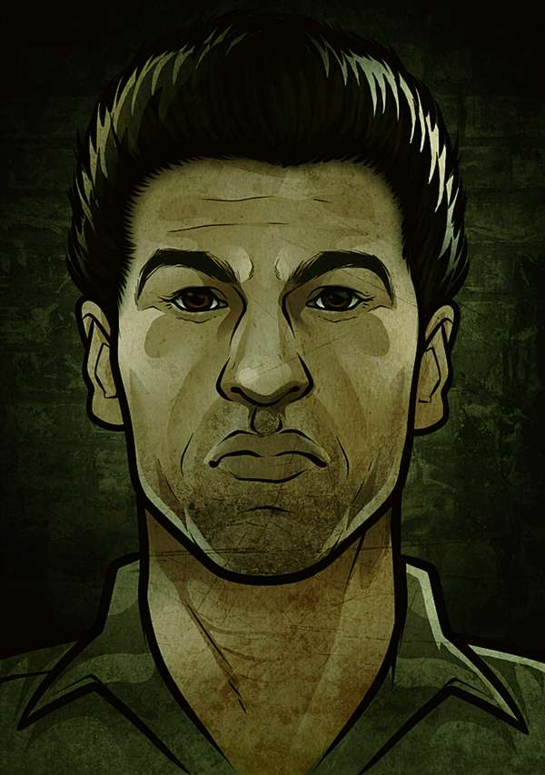 Shane Walsh - Drawing Tutorial Included by Dragoart
