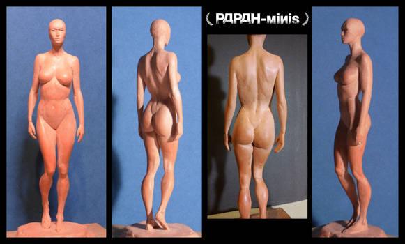 Female anatomy figure 1F WIP3, 24cm