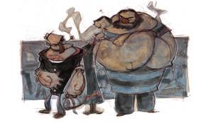 Popeye by JohnTimms