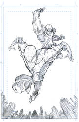 Spidey and Wolverine by JohnTimms