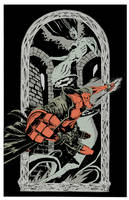 Hellboy in color by JohnTimms