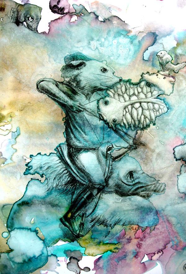 Mole Rider by rskrakau