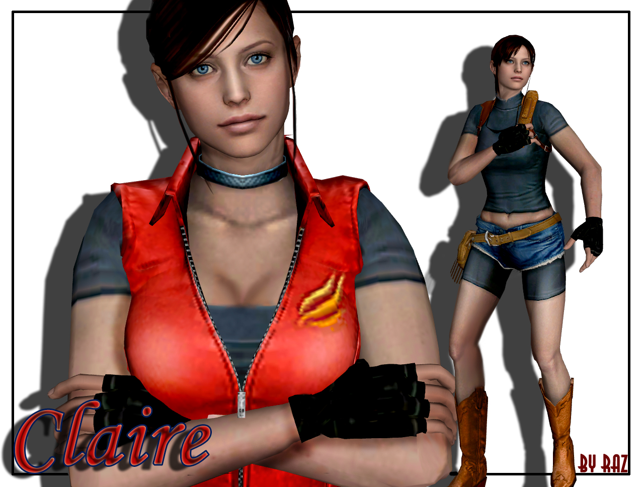 Claire Redfield by RazKurdt