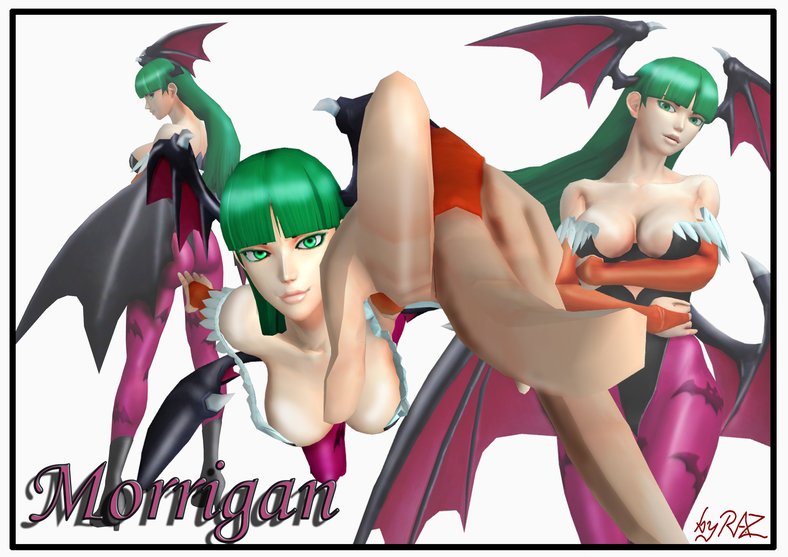 Morrigan by RazKurdt