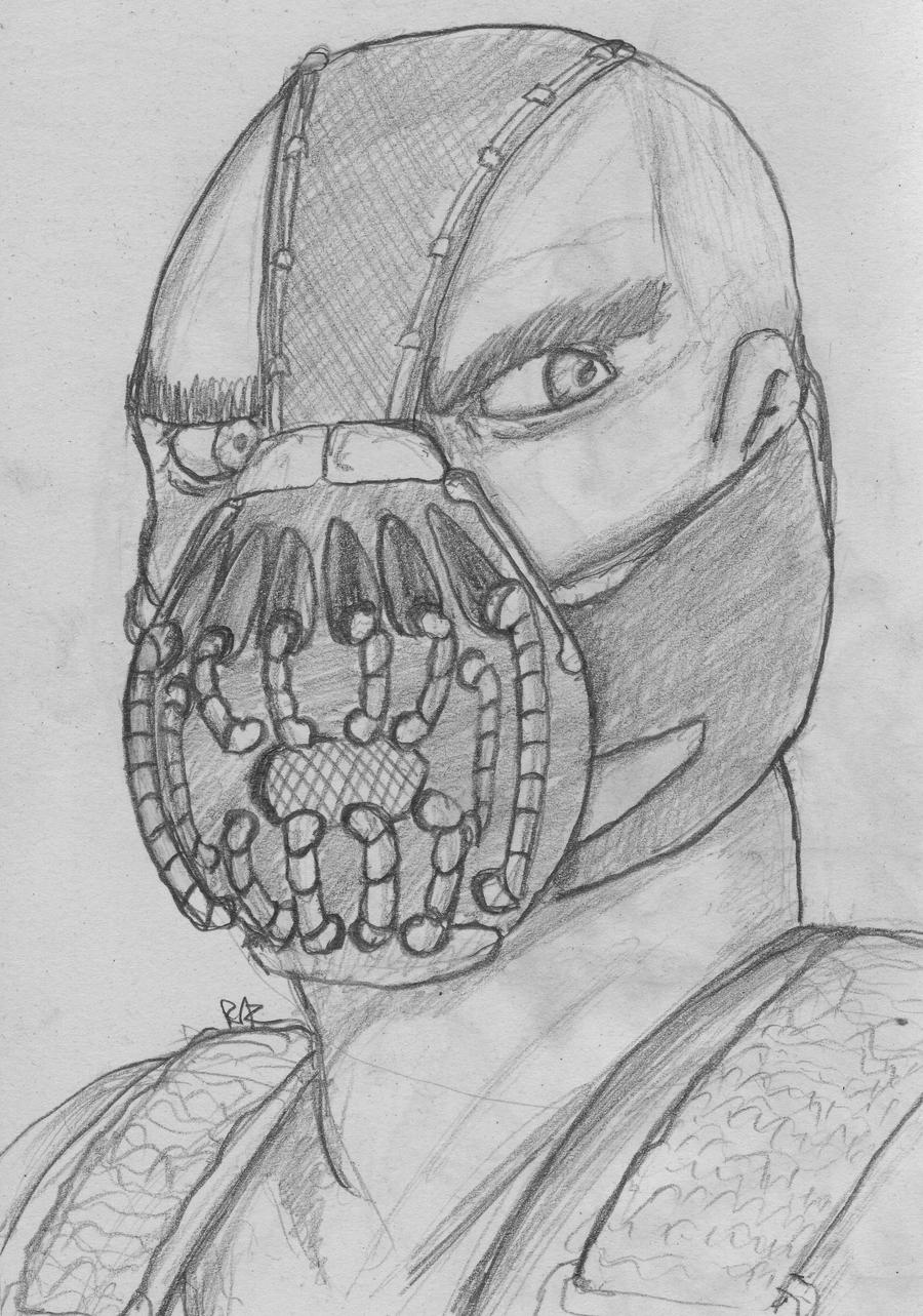 Bane sketch by RazKurdt