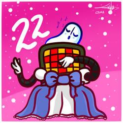 Advent Calendar Mettablook - december 22nd by CamaEtPrune