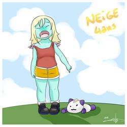 Neige : 4 years old by CamaEtPrune
