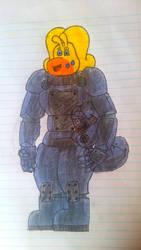 Power armor Martha by goodragirl490