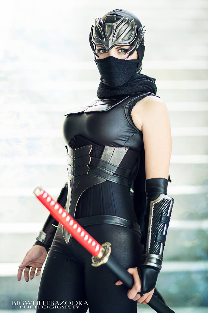 Female Ninja Gaiden by BigWhiteBazooka