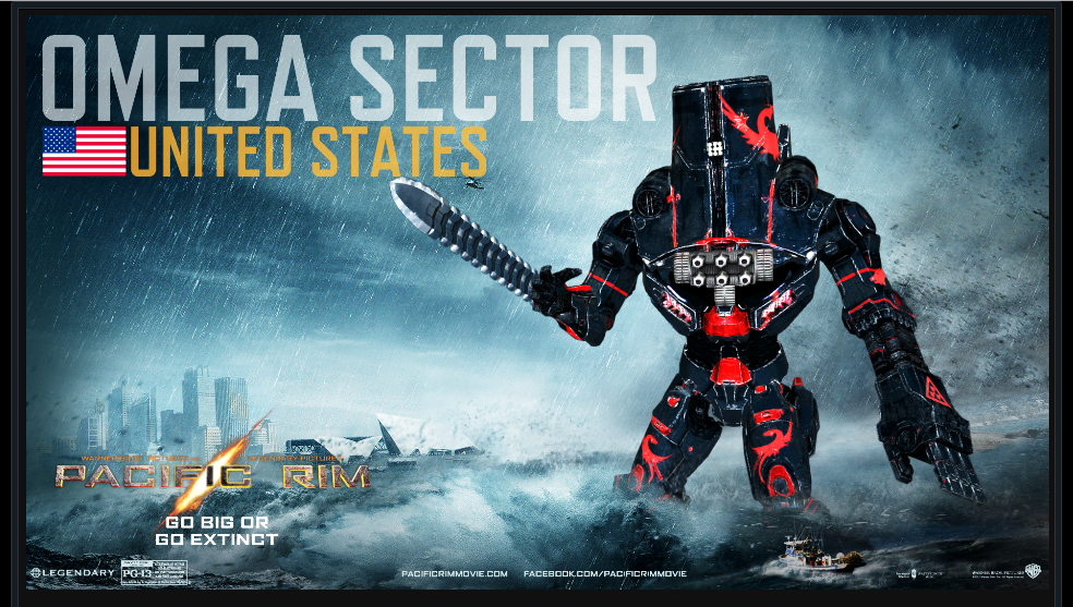 PACIFIC RIM - The OMEGA SECTOR Jaeger -Offshore by ... Pacific Rim Jaeger Stats