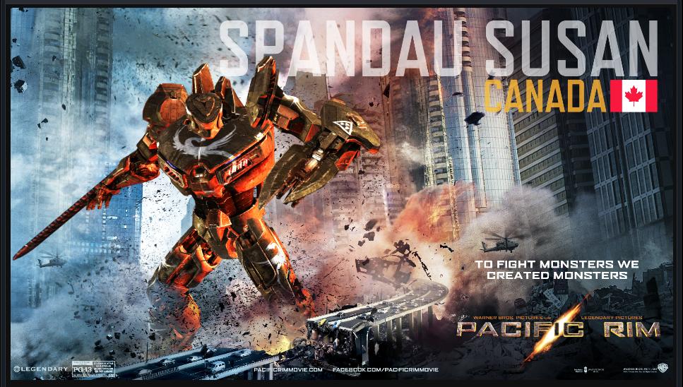 PACIFIC RIM - The SPANDAU SUSAN Jaeger by OmegaManLegend ... Pacific Rim Jaeger Stats