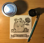 Inktober Day 26/Squeak: Big Mouse and Lil' Mouse by LeeNeji4evs