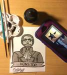 Inktober Day 27/Climb: He's Nonstop by LeeNeji4evs