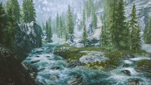 Sacred River- Skyrim
