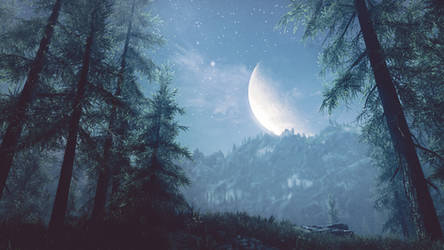 A night to remember III- Skyrim by WatchTheSkiies