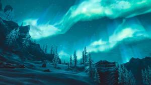 Northern lights - Skyrim