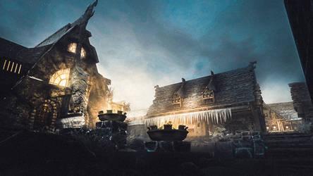 Windhelm - Skyrim by WatchTheSkiies