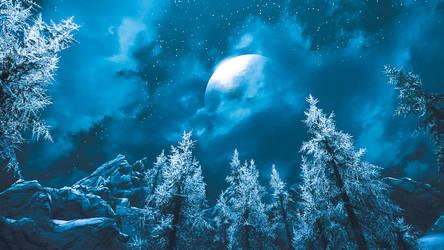 Under The Moonspell III - Skyrim by WatchTheSkiies