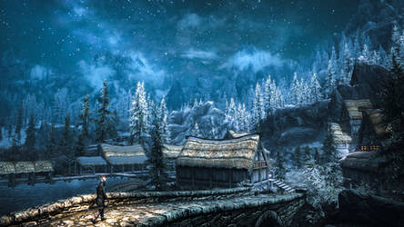 Morthal - Skyrim by WatchTheSkiies