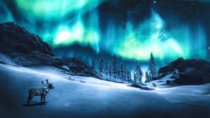 Across The Sky - Skyrim by WatchTheSkiies