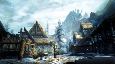 Winterhold - Skyrim by WatchTheSkiies
