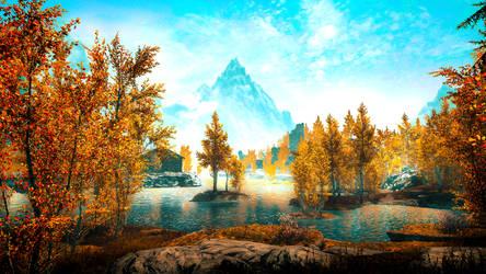 Lake Honrich - Skyrim